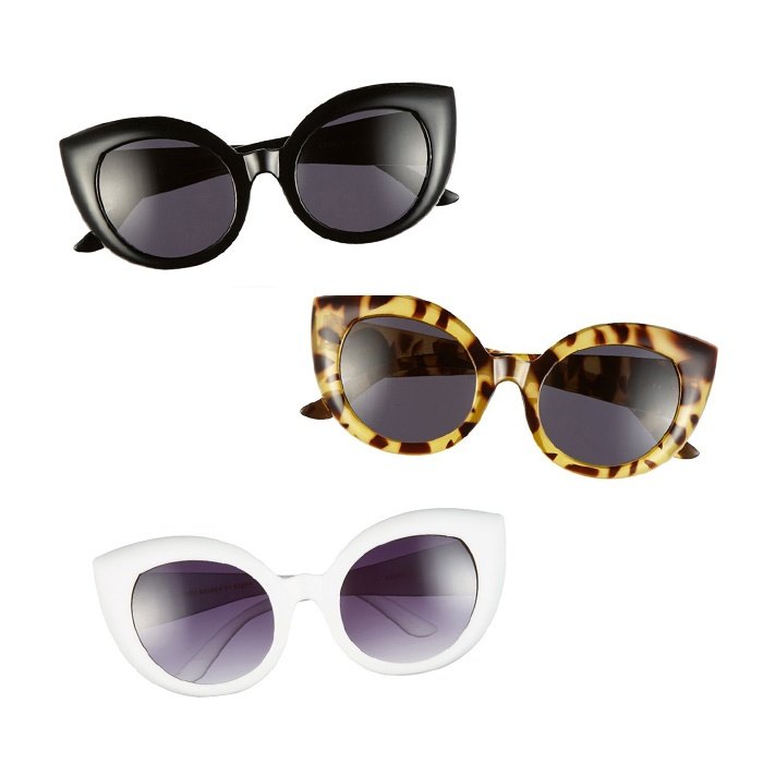 Best Ten Summer Musts for the Beach - CRAP Eyewear The Diamond Brunch 55mm Sunglasses