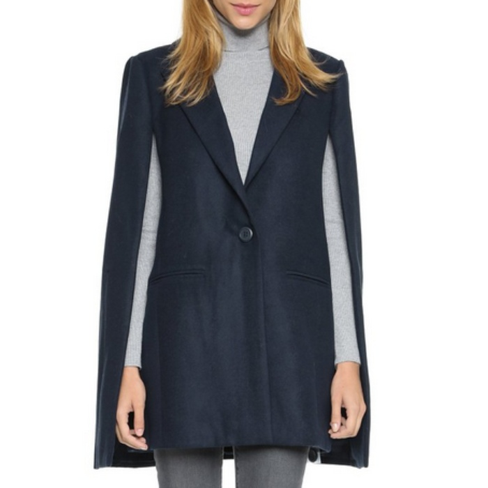 Best Cape Coats and Blazers - Cupcakes and Cashmere Coronado Cape Jacket