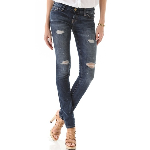 Best Ripped Jeans - Current/ElliottThe Skinny Jeans