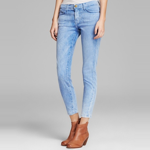 Best Light Wash Skinny Jeans - Current/Elliott The Stiletto Jeans