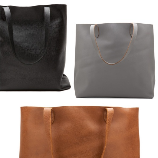 Cuyana Leather Tote | Rank & Style