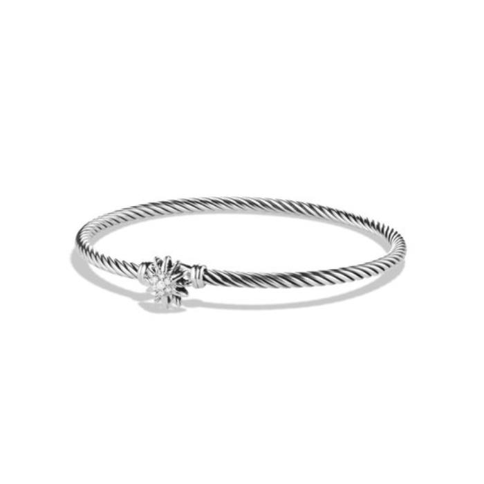 Best Diamond Jewelry Under $500 - David Yurman Starburst Single-Station Bracelet with Diamonds