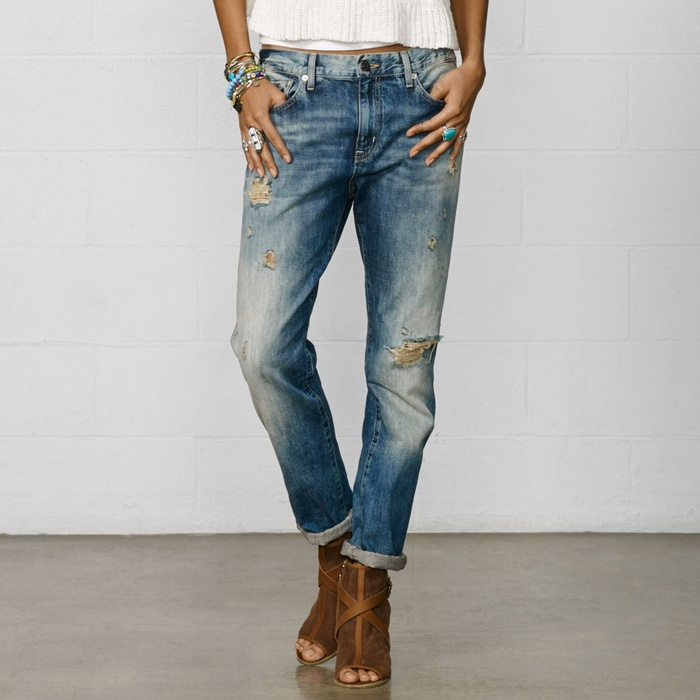 Best Distressed Jeans Under $200 - Denim & Supply Oceanside Boyfriend Jean