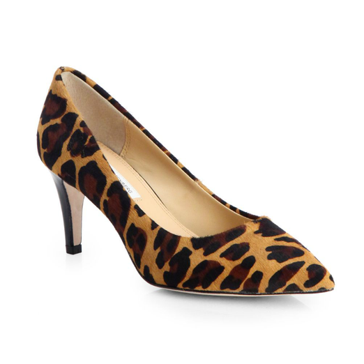 Best Calf Hair Pumps - Diane von Furstenberg Anette Leopard-Print Calf Hair Pumps