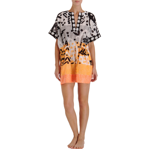 Best Beach Tunics, Caftans and Cover Ups - Diane von Furstenberg Beach Tan Caftan