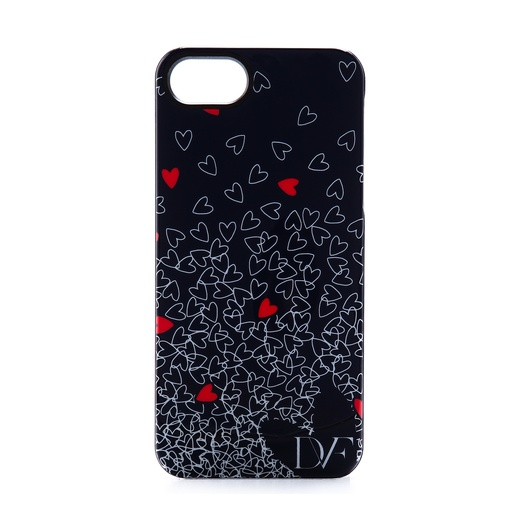 Best Graphic iPhone Cases Under $50 - Diane von Furstenberg Falling Hearts Phone Case