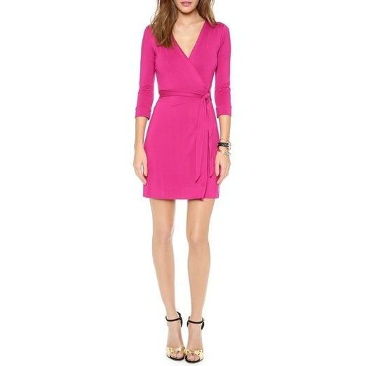 Best Work Dresses - Diane von Furstenberg New Julian Mini Wrap Dress