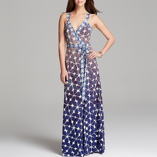 Best Garden Party Dresses - Diane von Furstenberg Samson Maxi Dress