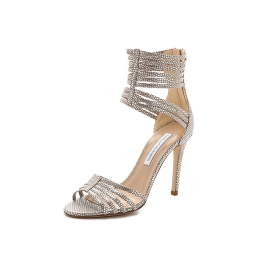 Best Party Shoes - Diane von Furstenberg Ursula Strappy Sandals