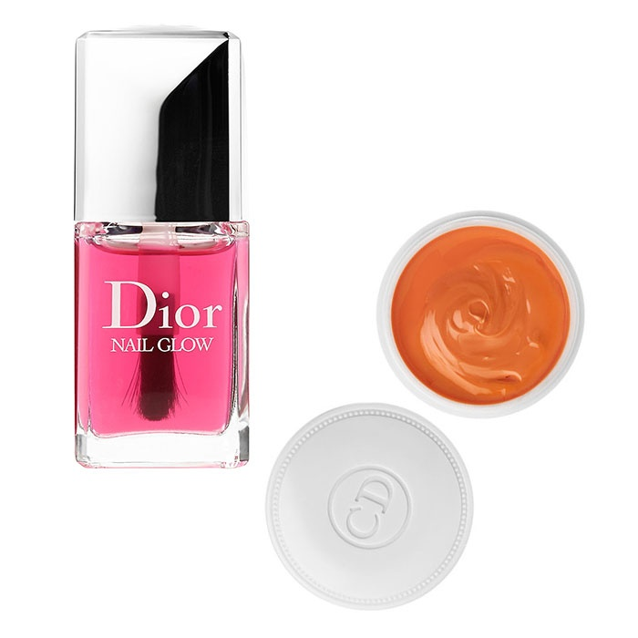 Best Winter Nail Care Products - Dior Nail Glow and Crème Abricot Nail Cream