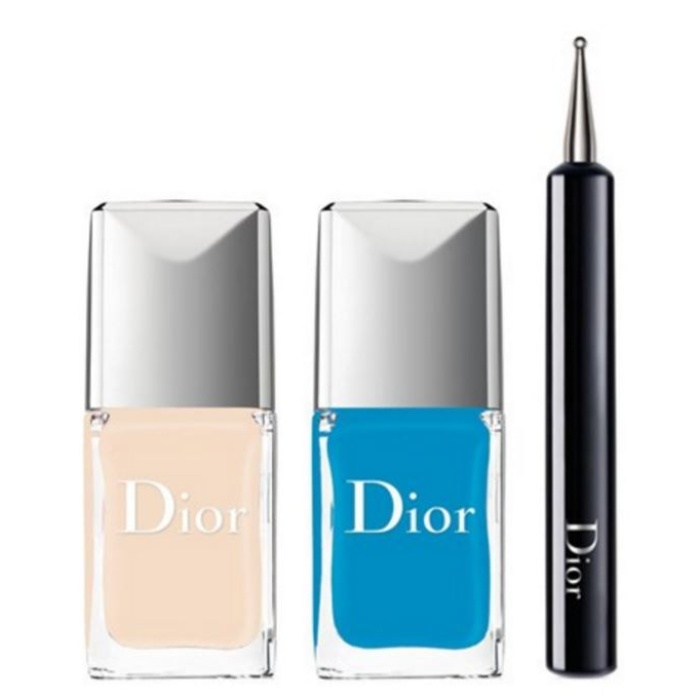 Best Summer Nail Colors - Dior 'Vernis - Polka Dots' Color & Dots Manicure Kit