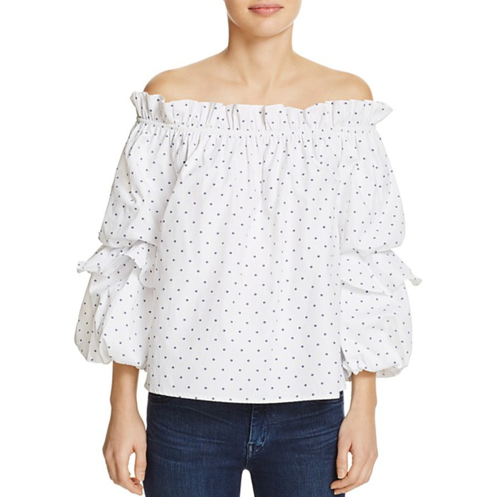 Best Statement Sleeve Tops - Do and Be Tiered Sleeve Off-The-Shoulder Top
