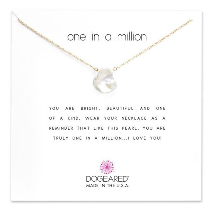 Best Mother's Day Gifts 2017 - Dogeared Reminder - One in a Million Keshi Pearl Pendant Necklace