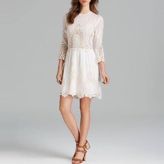 Best Summer White Bests - Dolce Vita Valentina Lace Dress