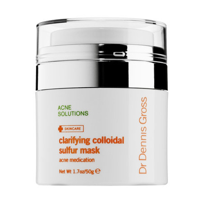 Best Acne Face Masks - Dr. Dennis Gross Skincare Clarifying Colloidal Sulfur Mask