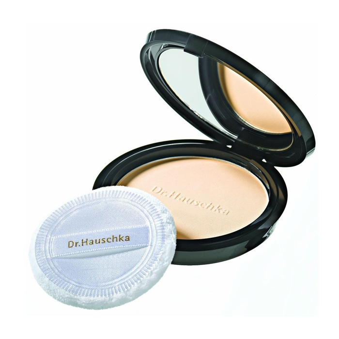 Best Natural Powders - Dr. Hauschka Skin Care Translucent Face Powder Compact