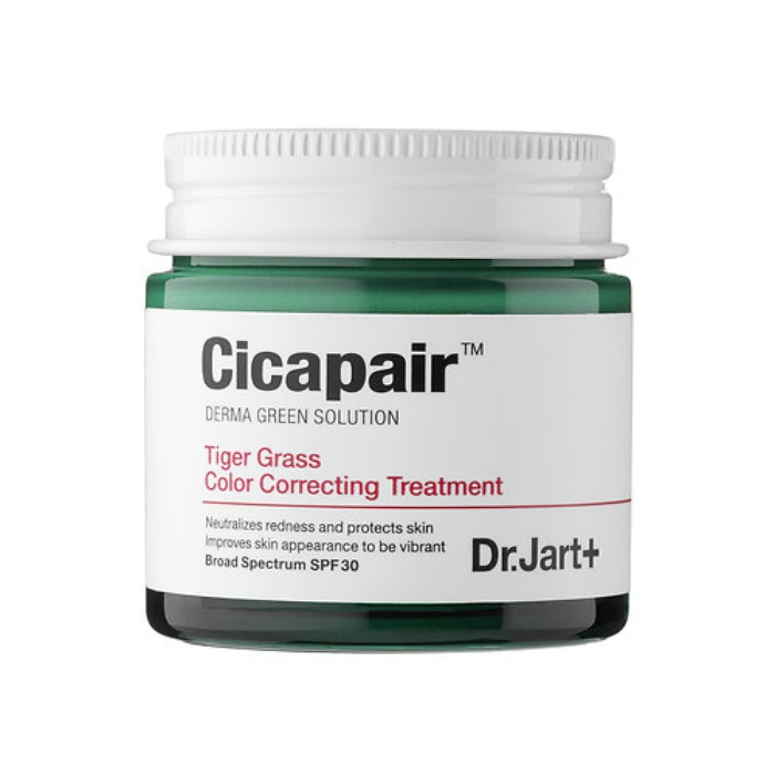 Best Korean Beauty Products - Dr. Jart+ Cicapair Tiger Grass Color Correcting Treatment SPF 30