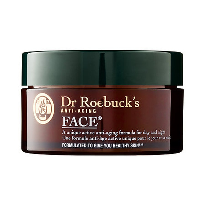 Best Indie Beauty Brands - Dr Roebuck's FACE Anti-Aging Moisturizer
