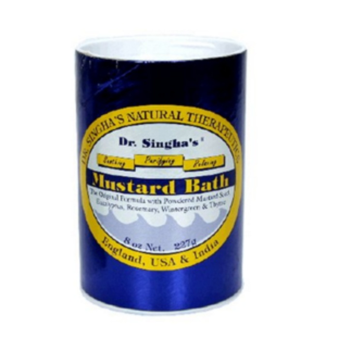 Best Bath Soaking Salts - Dr. Singha's Mustard Bath