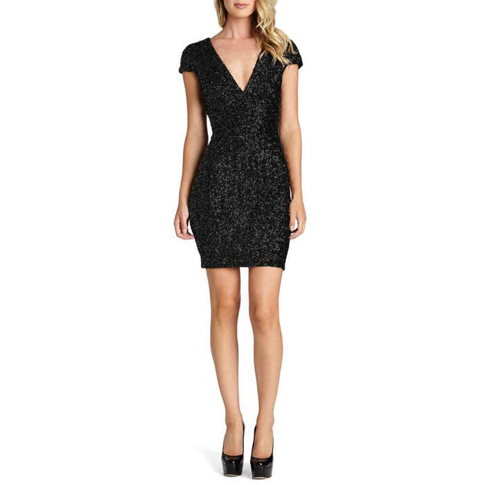 Best New Year's Eve Dresses - Dress the Population Zoe Sequin Minidress
