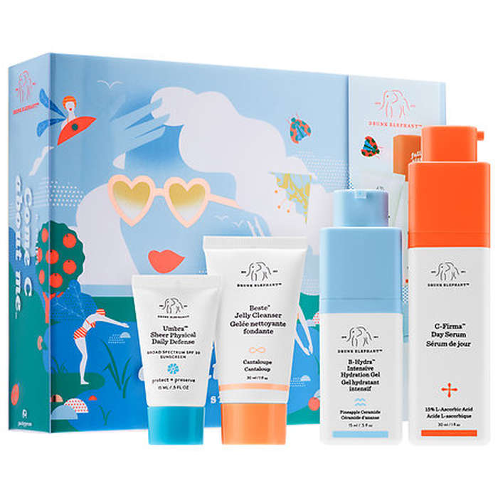 Best Skincare Gift Sets - Drunk Elephant Volume 2: Come C About Me