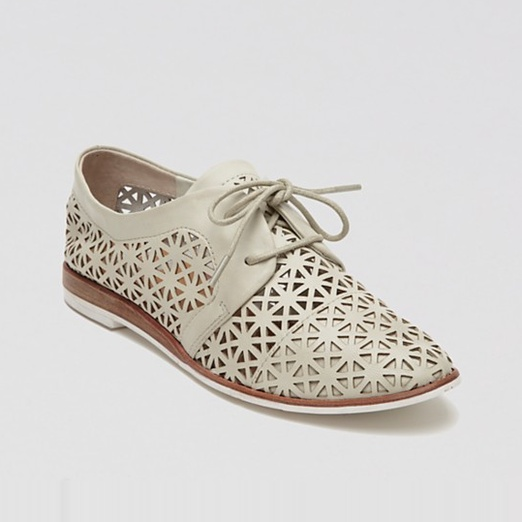 Best Summer Oxfords - DV Dolce Vita Lace Up Oxford Flats - Moe Perforated