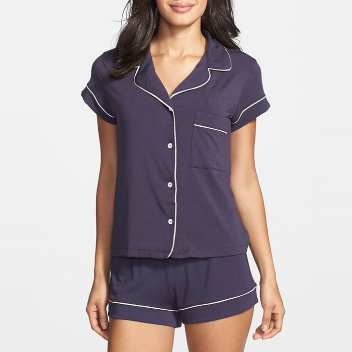 Best Loungewear for Fall - Eberjey Gisele PJ Set