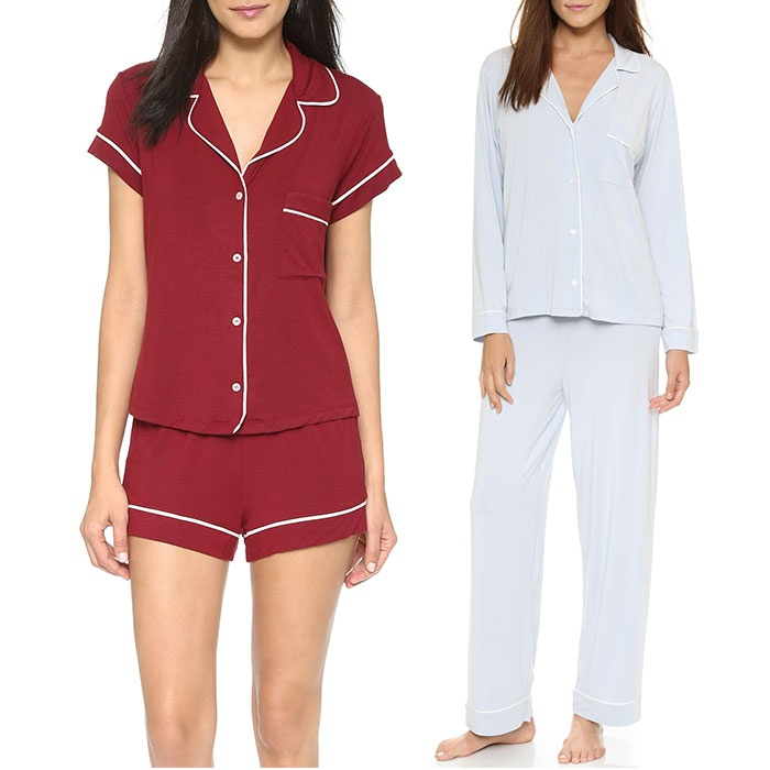 Best Sleeping in Style - Eberjey Gisele PJ Set & Short Gisele PJ Set