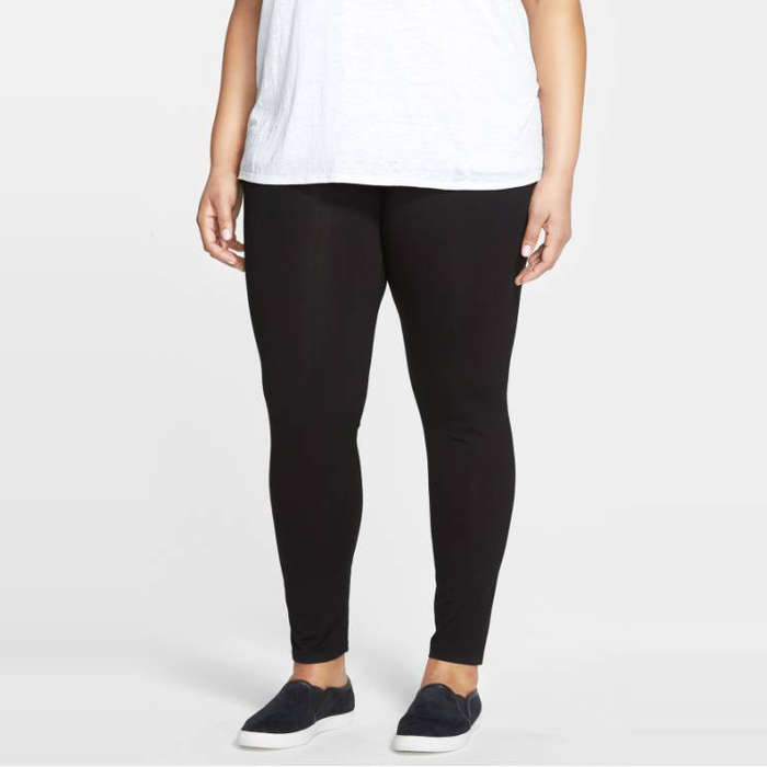 Best Plus Size and Curve Leggings - Eileen Fisher Ankle Leggings
