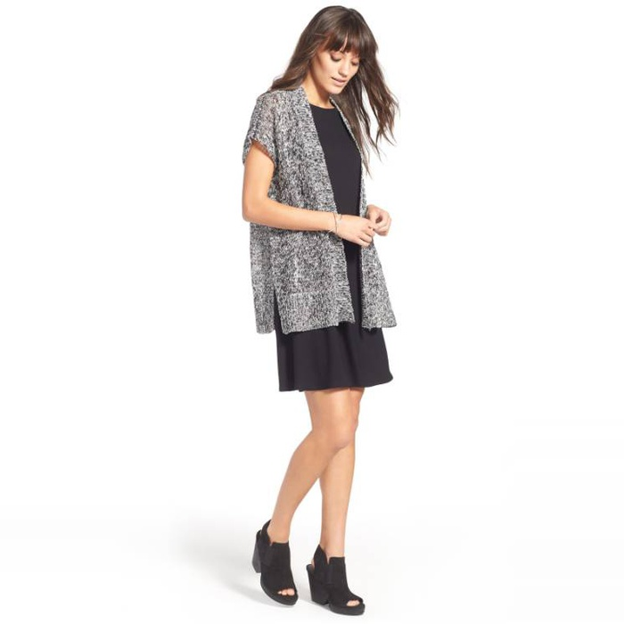Best Transitional Dresses - Eileen Fisher Lightweight Jersey Shift Dress