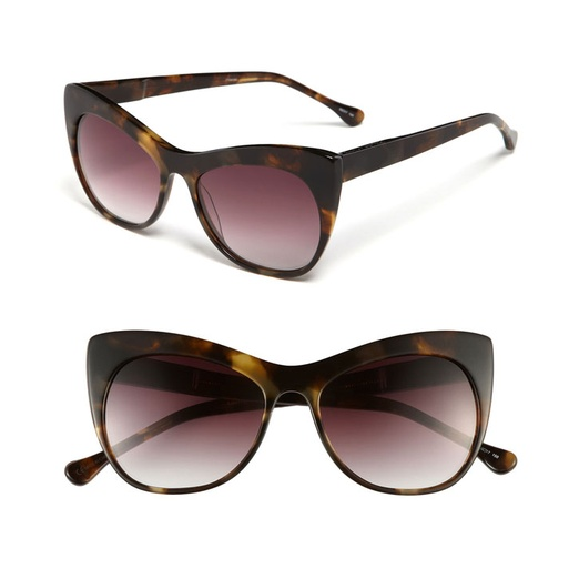 Best Sunglasses of All Shapes and Sizes for Spring - Elizabeth and James Lafayette Cat Eye Sunglasses