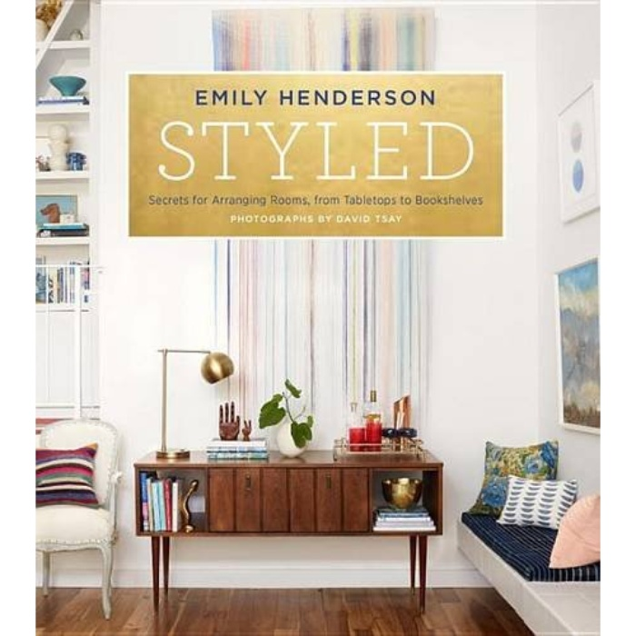 Best Coffee Table Books - Emily Henderson: Styled: Secrets for Arranging Rooms, from Tabletops to Bookshelves