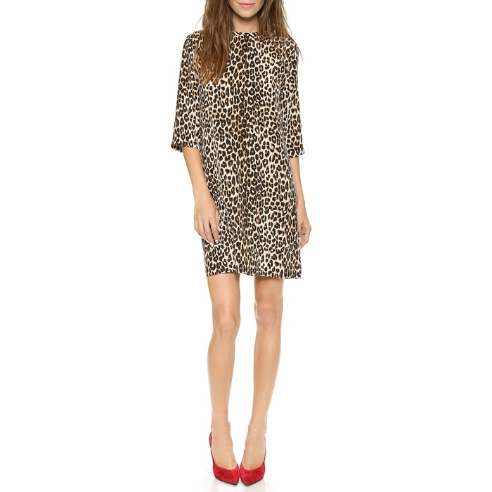 Best Animal Print Dresses - Equipment Aubrey Dress