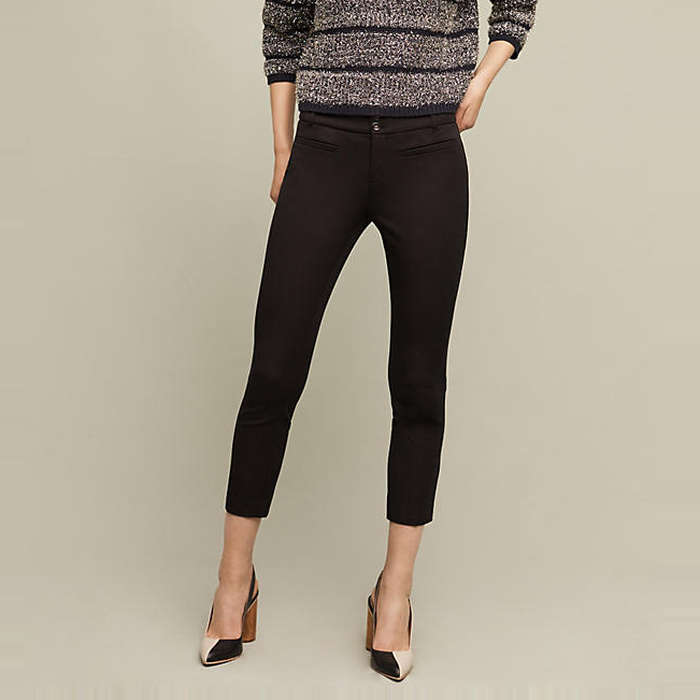 Best Anthropologie Styles - Essentials by Anthropologie The Essential Slim Trouser