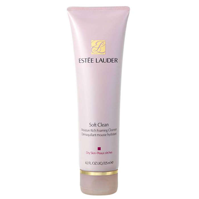 Best Moisturizing Cleansers - Estee Lauder Soft Clean Moisture Rich Foaming Cleanser