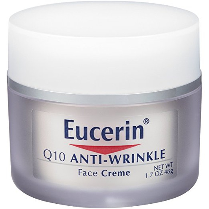 Best Drugstore Face Moisturizers - Eucerin Sensitive Skin Experts Q10 Anti-Wrinkle Face Creme