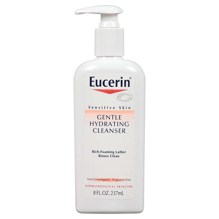 Best Moisturizing Cleansers - Eucerin Sensitive Skin Gentle Hydrating Cleanser