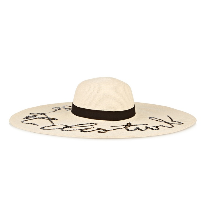 Best Stylish Summer Hats - Eugenia Kim Sunny Embellished Toyo Sunhat