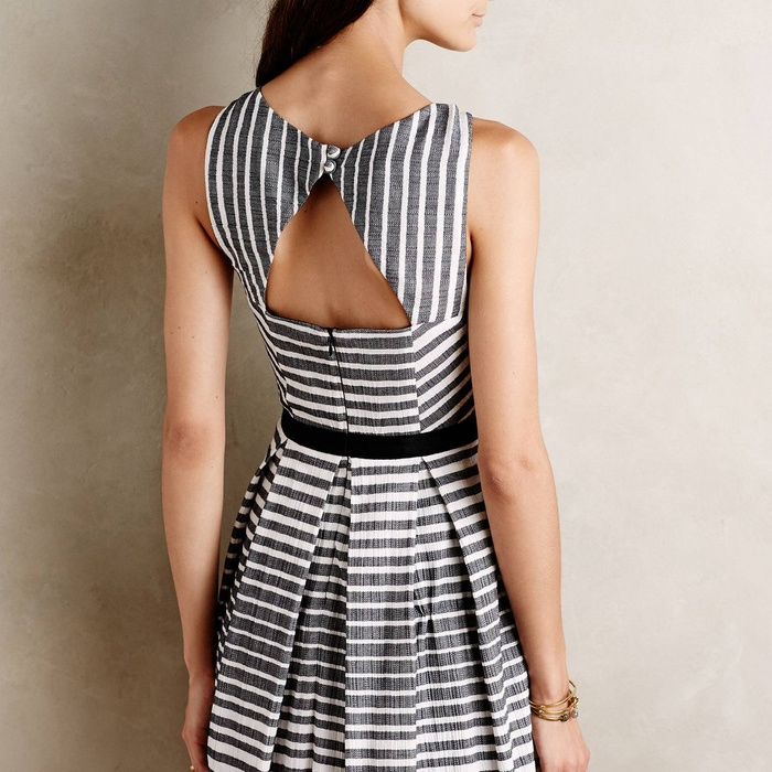 Best Cut Out Dresses Under $300 - Eva Franco Saybrook Stripe Dress