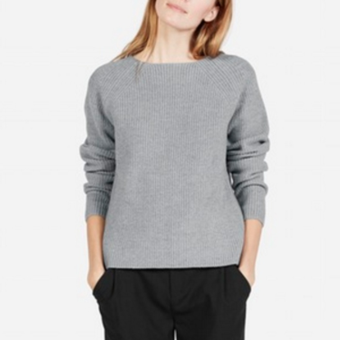 Best Crewneck Sweaters Under $100 - Everlane the Chunky Wool Wide Crew Neck