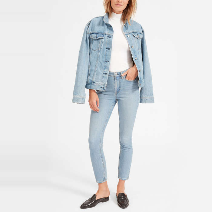 Best Skinny Jeans Under $100 - Everlane The High-Rise Skinny Jean