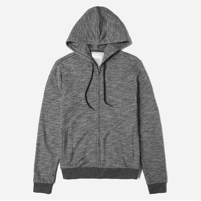Best Men's Hoodies - Everlane Zip Hoodie Sweatshirt