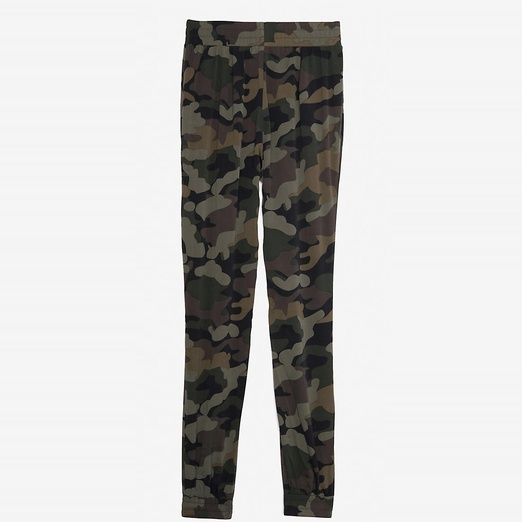 Best Printed Pants - Intermix Exclusive for Intermix Camo Print Silk Pants