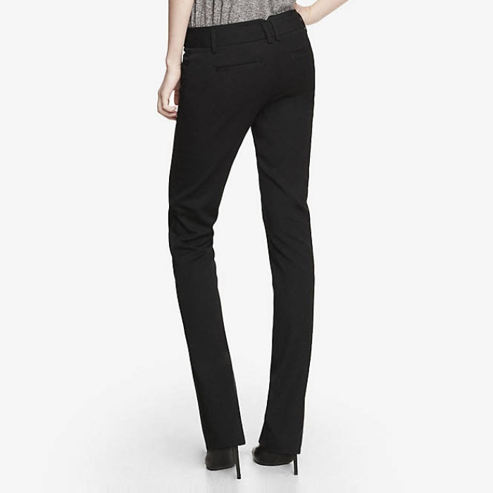 Best Work Pants Under $100 - Express Studio Stretch Barely Boot Columnist Pants