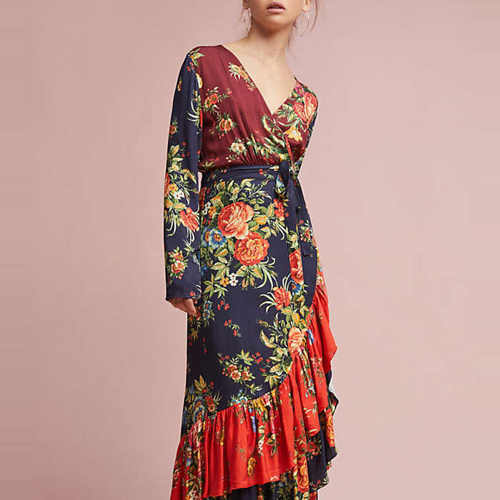 Farm Rio Audrey Wrap Dress Rank Amp Style