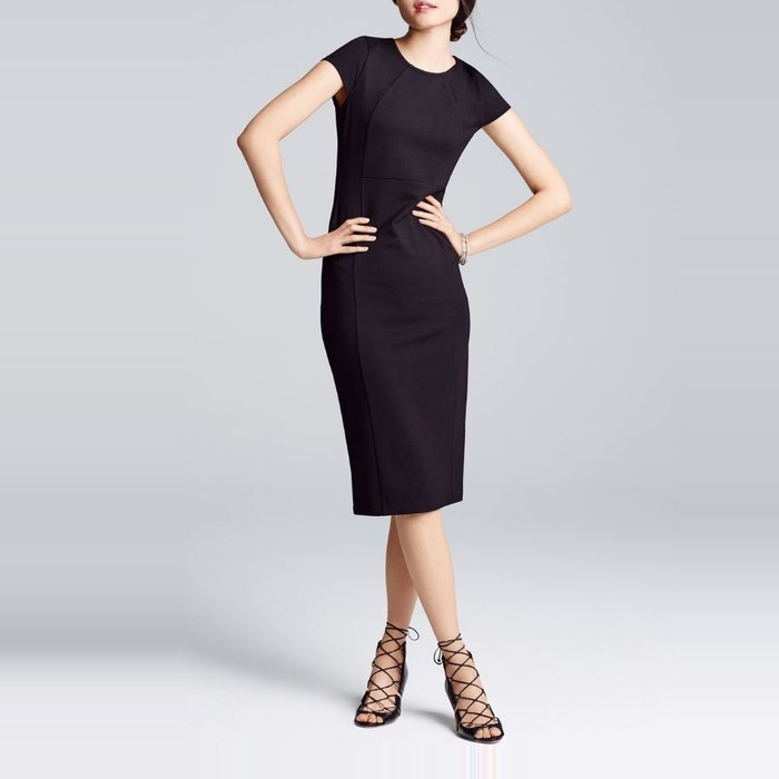 Best Wear to Work Dresses - Felicity & Coco Seamed Pencil Dress