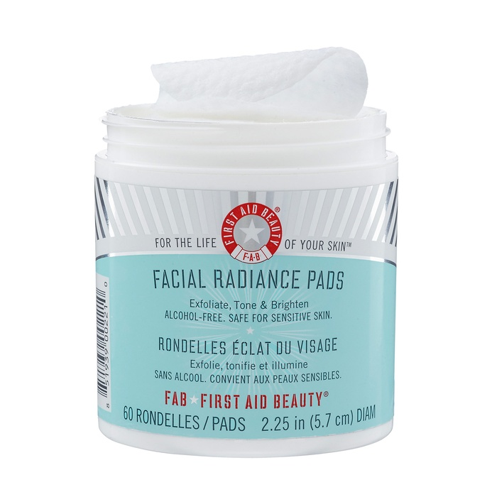 Best At Home Peels for Sensitive Skin - First Aid Beauty Facial Radiance Pads
