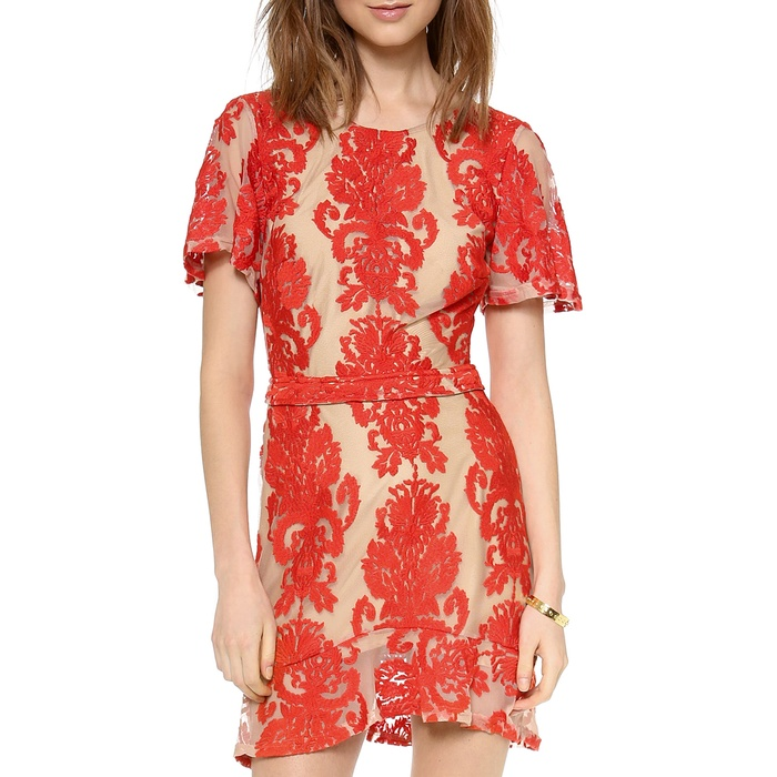 Best Dresses Under $250 for Summer Weddings - For Love & Lemons San Marcos Mini Dress
