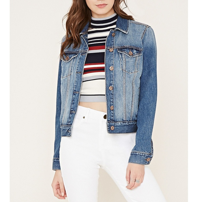 Best Denim Jackets for Cool Summer Nights - Forever 21 Denim Jacket