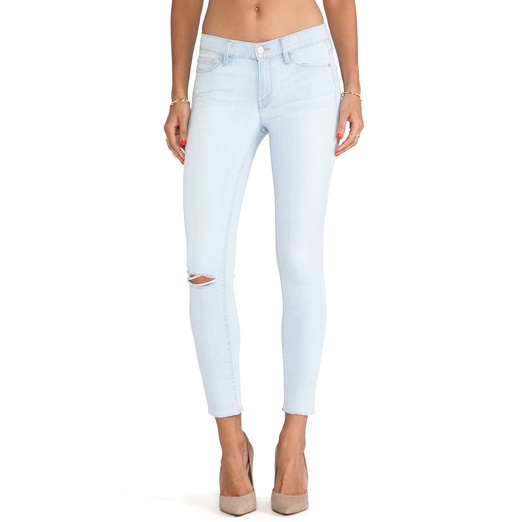 Best Light Wash Skinny Jeans - Frame Denim Le Skinny